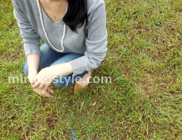 LAOGの三脚で撮った女性と風景2