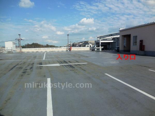 宮前平のKaBoSの2階駐車場