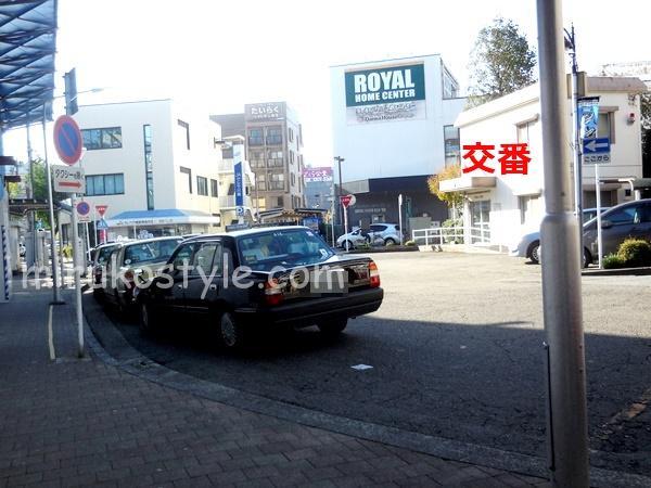 宮前平 北口のタクシー乗り場