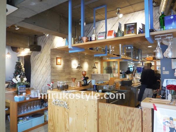 鷺沼駅 北口のカフェ ニューヨークコーヒーの店内