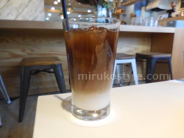 ニューヨークコーヒーのカフェオレ